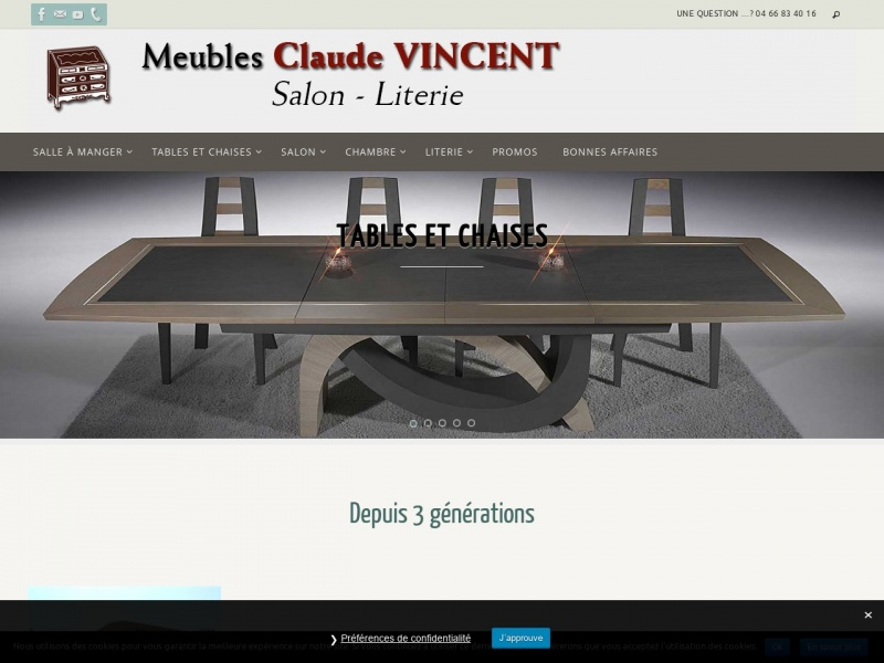 Meubles Claude Vincent - Maruéjols lès Gardon