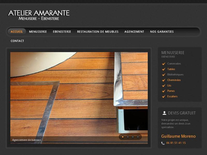 Atelier Amarante - Guillaume Moreno - Lazer