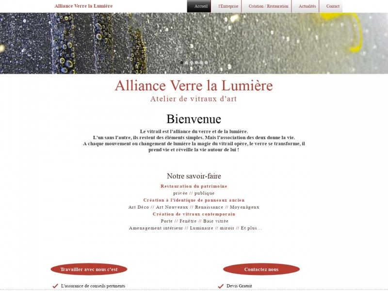 Alliance Verre la Lumière - Charlotte Lassalle - Moraches