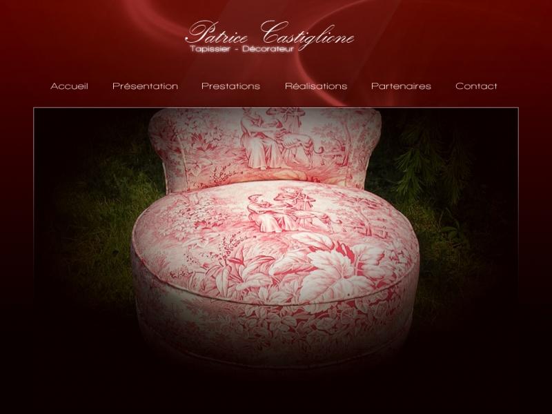 Patrice Castiglione - www.tapissier-castiglione.fr