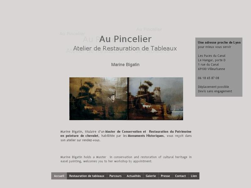Atelier Au Pincelier - Marine Bigatin - Villeurbanne