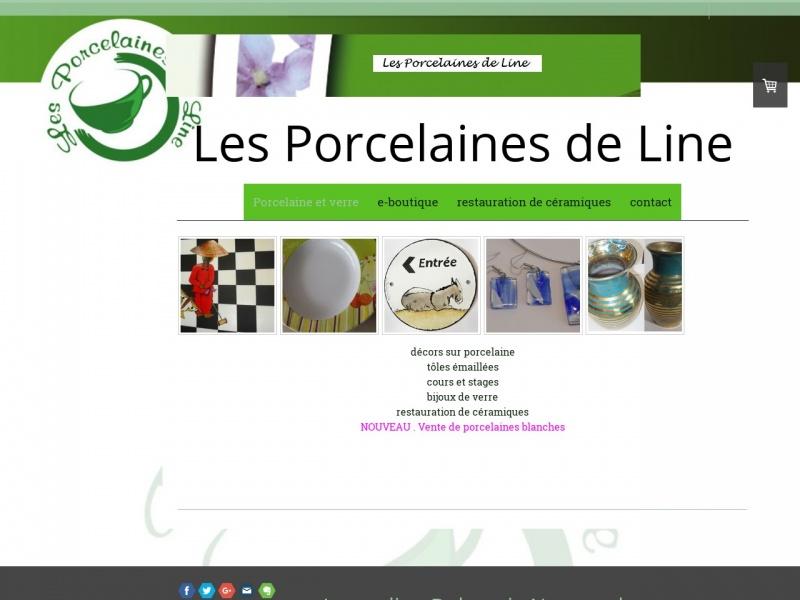 Les Porcelaines de Line - Jacqueline Delacroix - La Possonnière