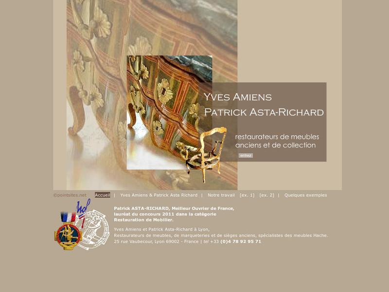 Yves Amiens et Patrick Asta-Richard - Lyon 2e