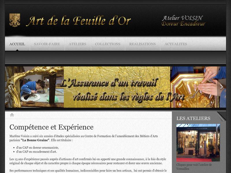 Art de la Feuille d'Or - Versailles