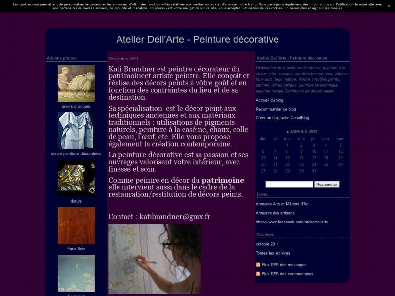 Atelier Dell'Arte - Kati Brandner - Saint Dalmas le Selvage