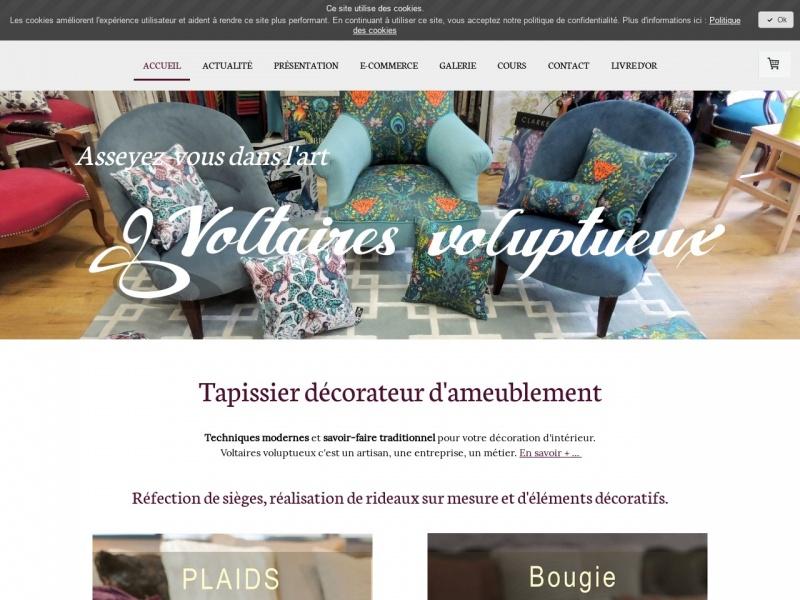 Voltaires Voluptueux - Amandine Cuaz - Domène