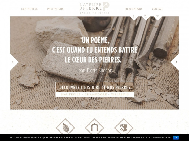 L'Atelier de la Pierre Pesenti - Hauteville Lompnes