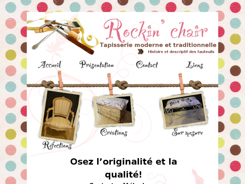 Rockin'chair - La Verrie