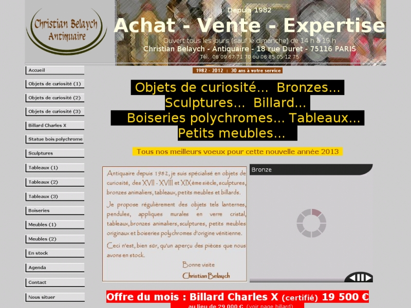 Christian Belaych - belaych-antiquaire.wifeo.com