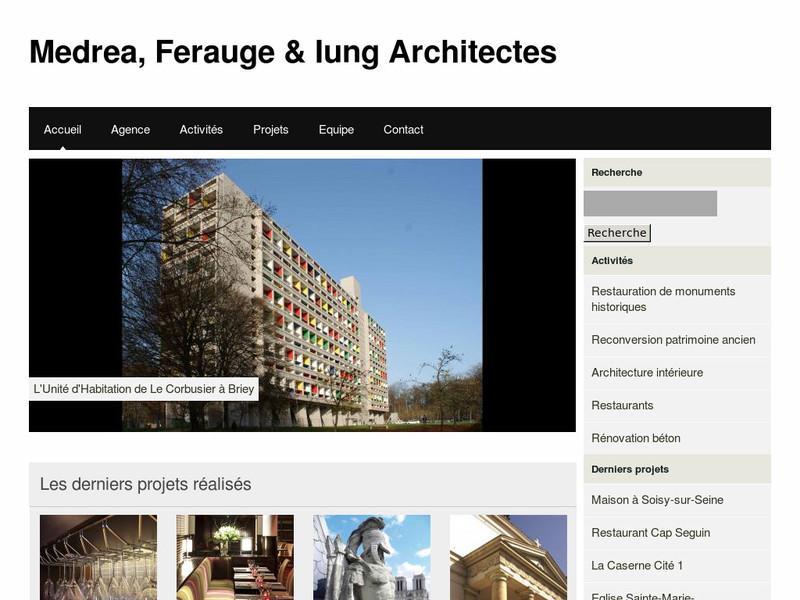 Medrea et Ferauge - Paris 14e