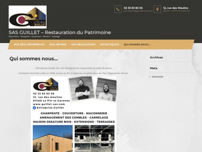 SAS Guillet - Le Pin la Garenne
