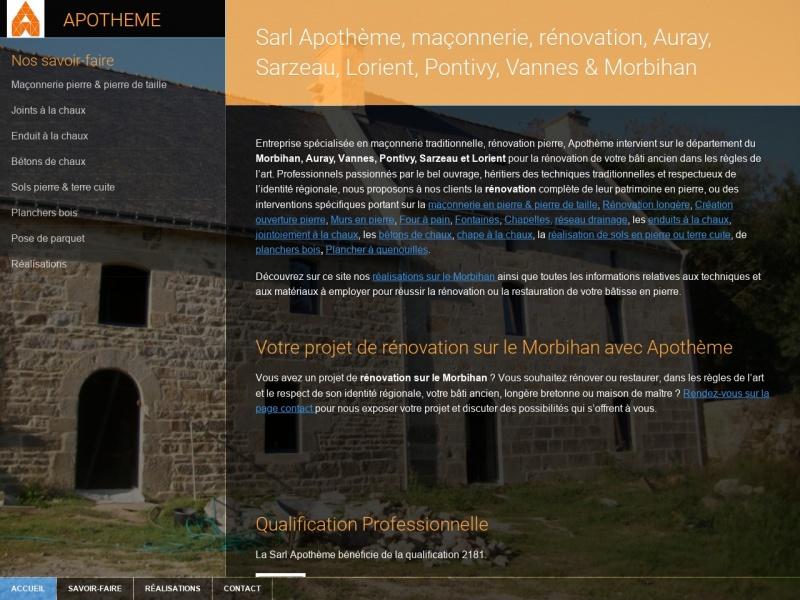 Apotheme - Plumelec