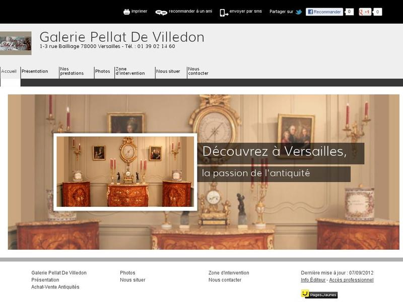 Galerie Pellat de Villedon - Versailles