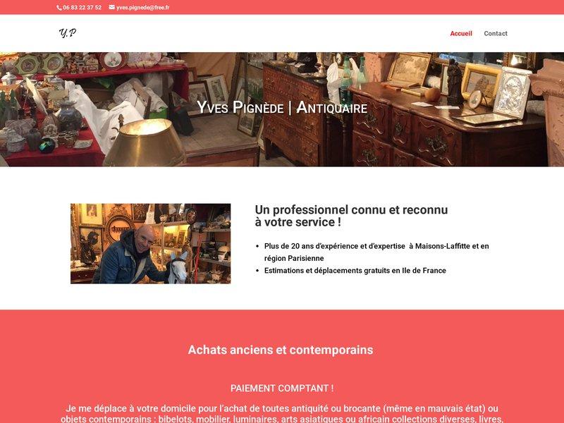 Yves Pignède - Maisons Laffitte