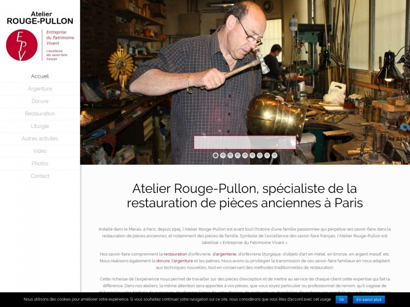Atelier Rouge Pullon - Paris 3e