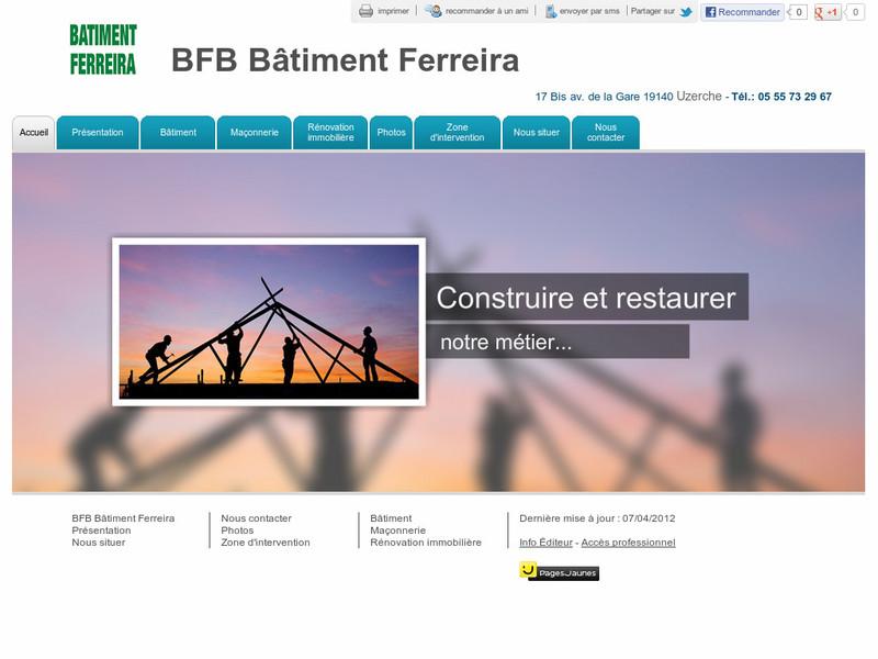 BFB Bâtiment Ferreira - Uzerche