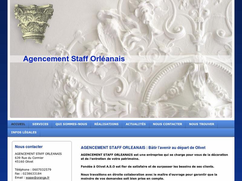 Agencement Staff Orléanais - Olivet