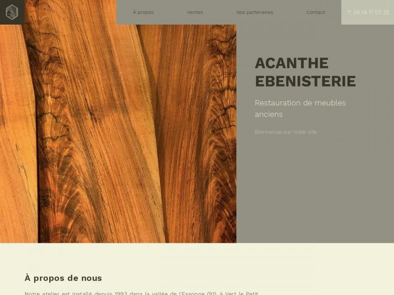 Acanthe Antiquités - Stephane Couespel - Vert le Petit