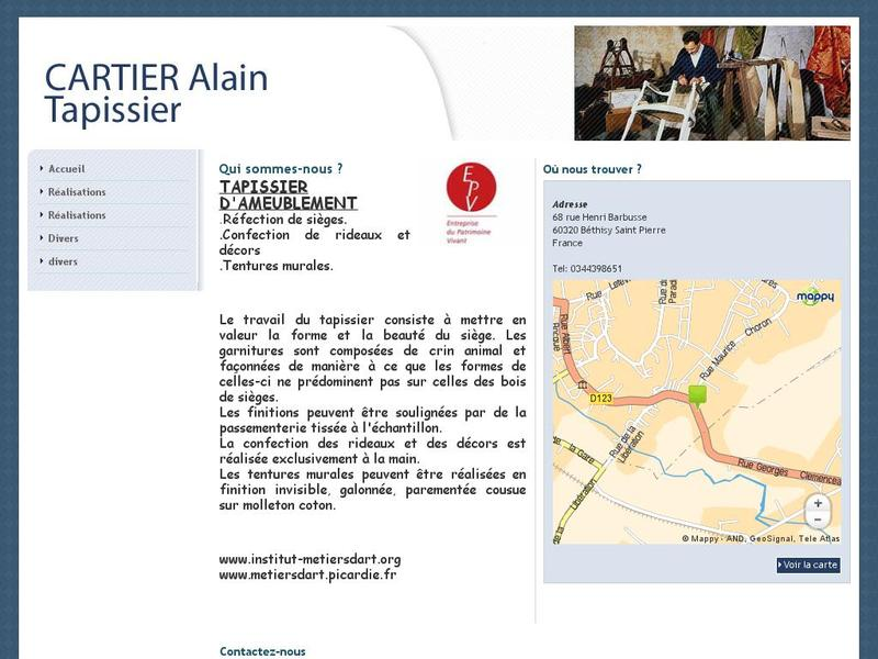 Alain Cartier - Béthisy Saint Pierre