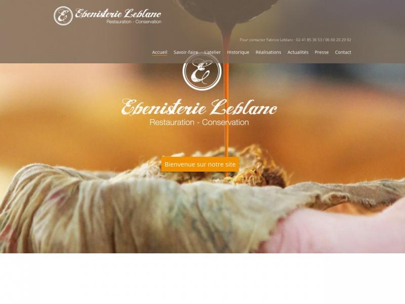 Ebénisterie Leblanc - www.ebenisterieleblanc.com