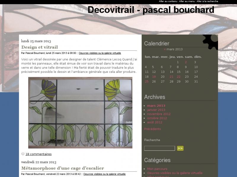 Déco Vitrail - Pascal Bourchard - La Baule