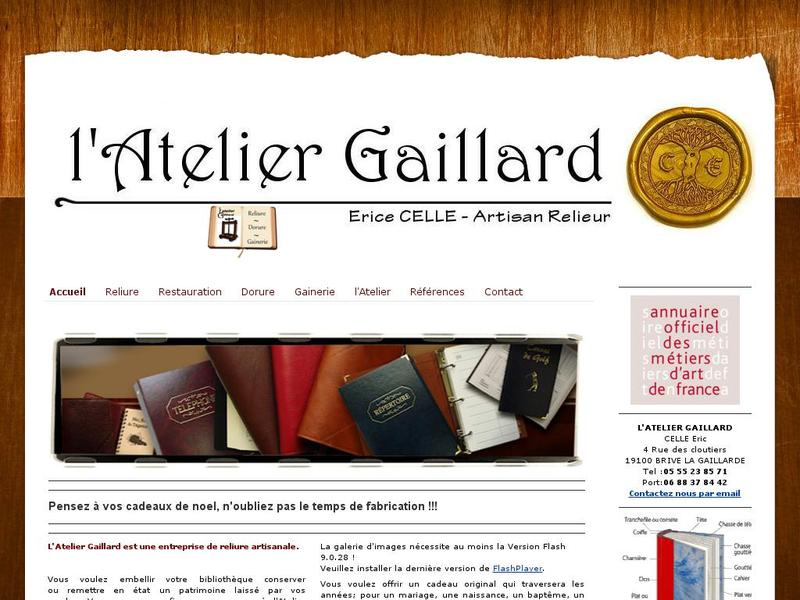 L'Atelier Gaillard - Eric Celle - Brive la Gaillarde