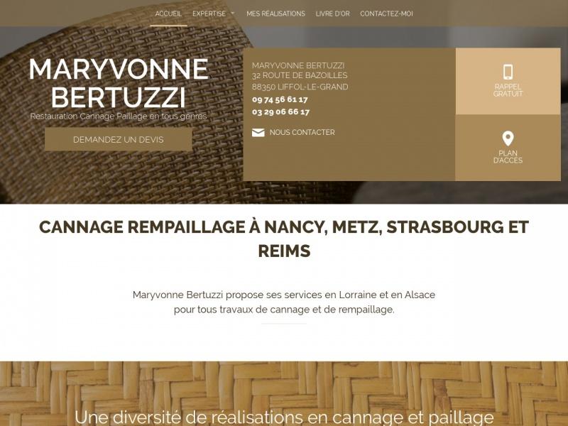 Maryvonne Bertuzzi - Liffol le Grand