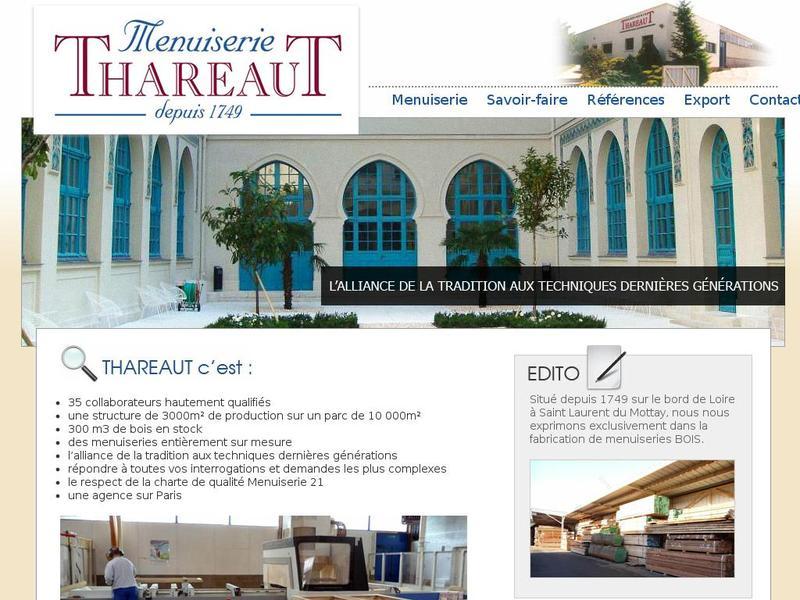 Menuiserie Thareaut - Saint Laurent du Mottay