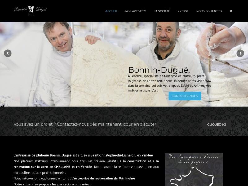 Bonnin Dugue - Saint Christophe du Ligneron