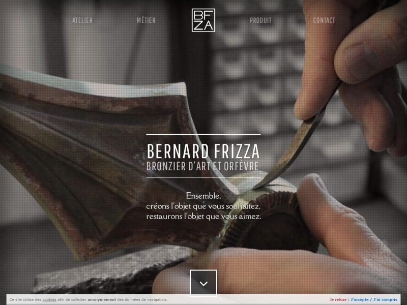 Bernard Frizza - www.art-bronze-orfevrerie.fr