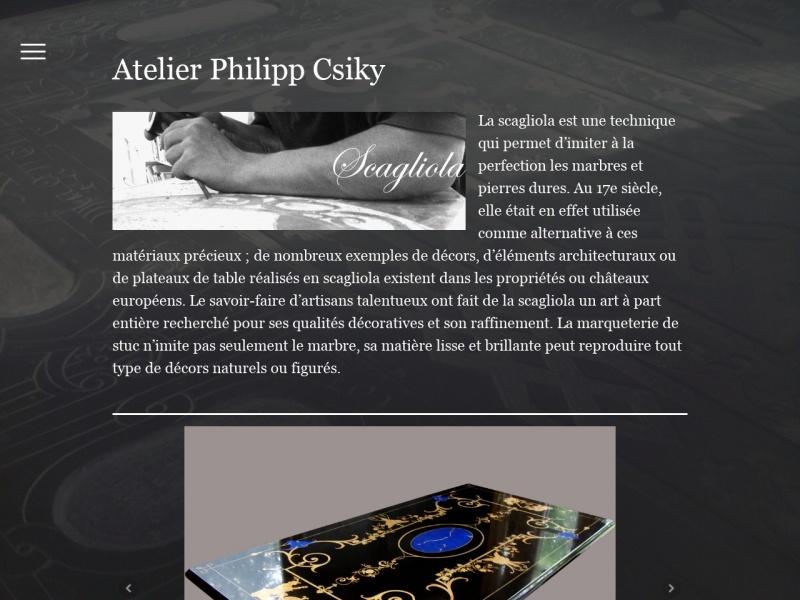 Atelier Philippe Csiky - Ury