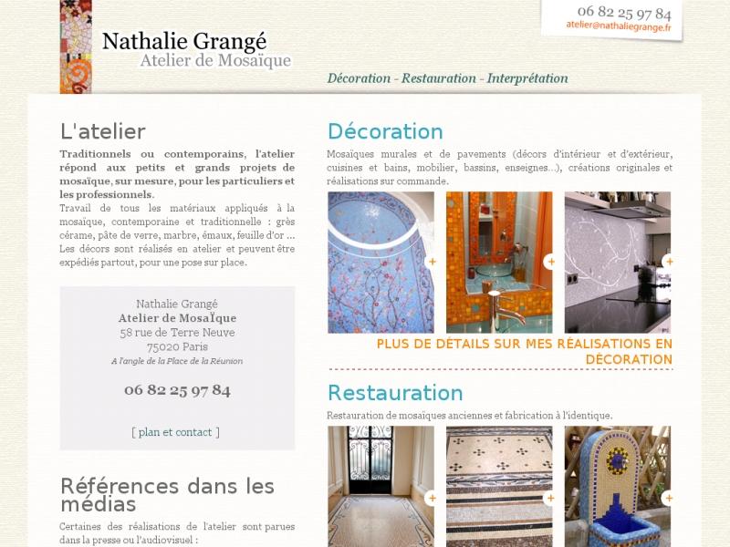 Nathalie Grangé - Paris 20e