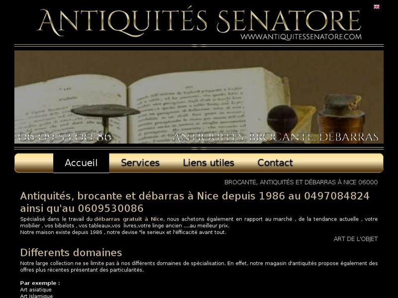 Antiquites Senatore - Nice