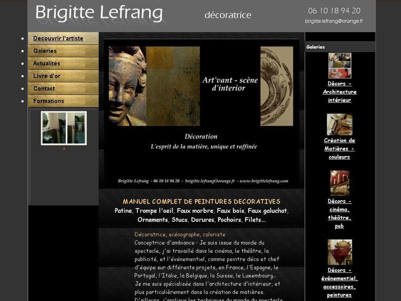 Brigitte Lefrang - Paris 5e