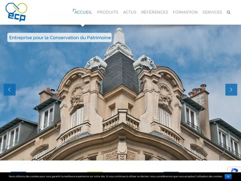Entreprise pour la Conservation du Patrimoine - ECP - Strasbourg