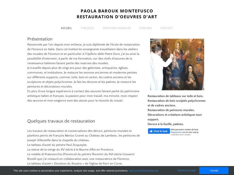 Paola Barouk Montefusco - Venelles