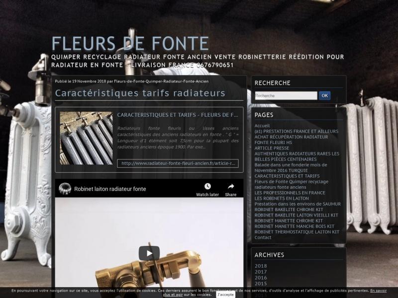 Fleurs de Fonte - Xavier Le Fur - Quimper