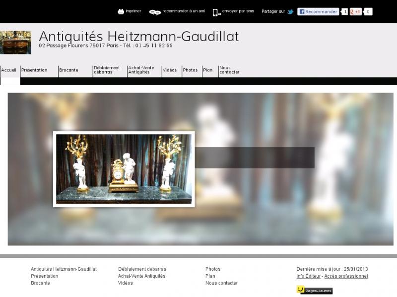 Heitzmann-Gaudillat - Paris 17e