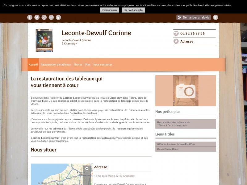 Corinne Leconte-Dewulf - Chambray