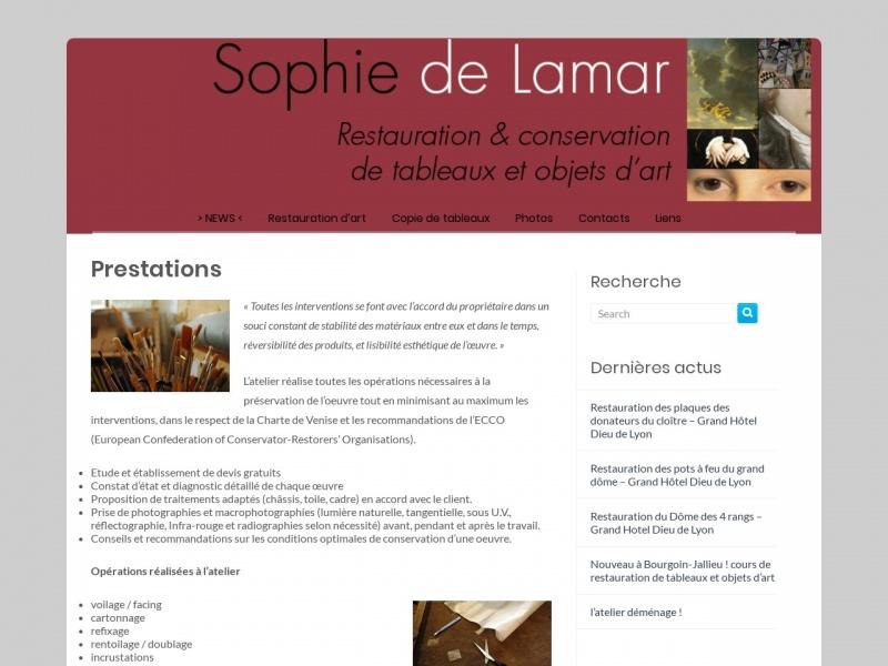 Sophie de Lamar - Trévoux