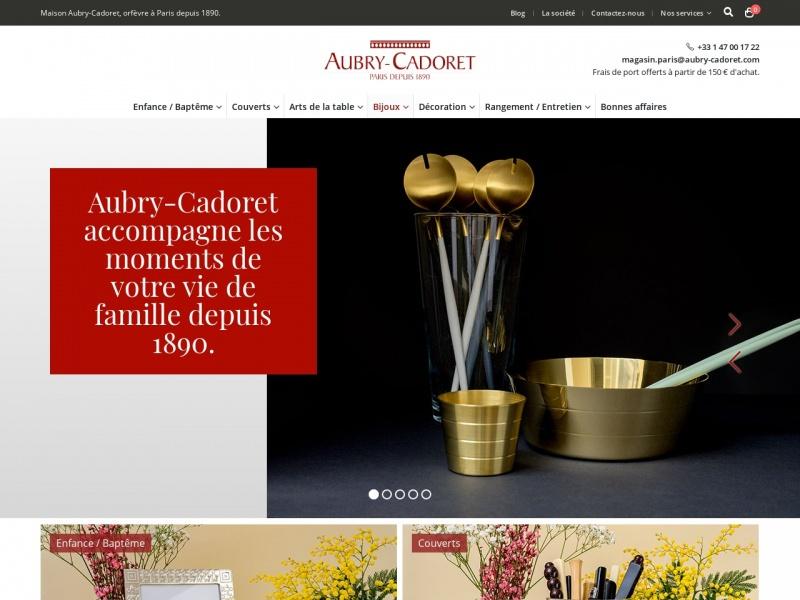 Aubry-Cadoret - Paris 3e
