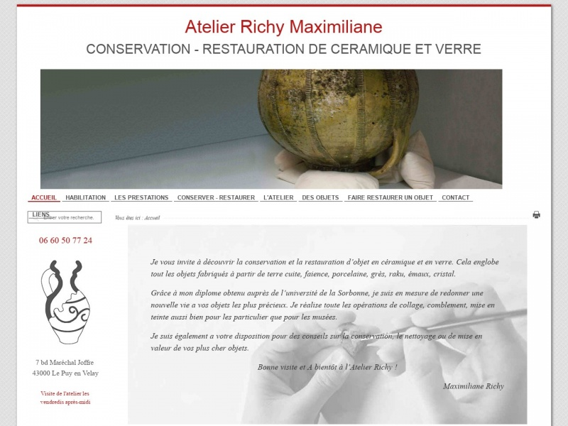 Maximiliane Richy - Le Puy en Velay