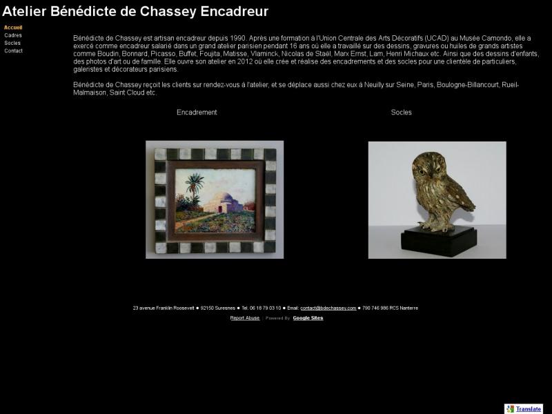 Atelier Benedicte de Chassey - Suresnes