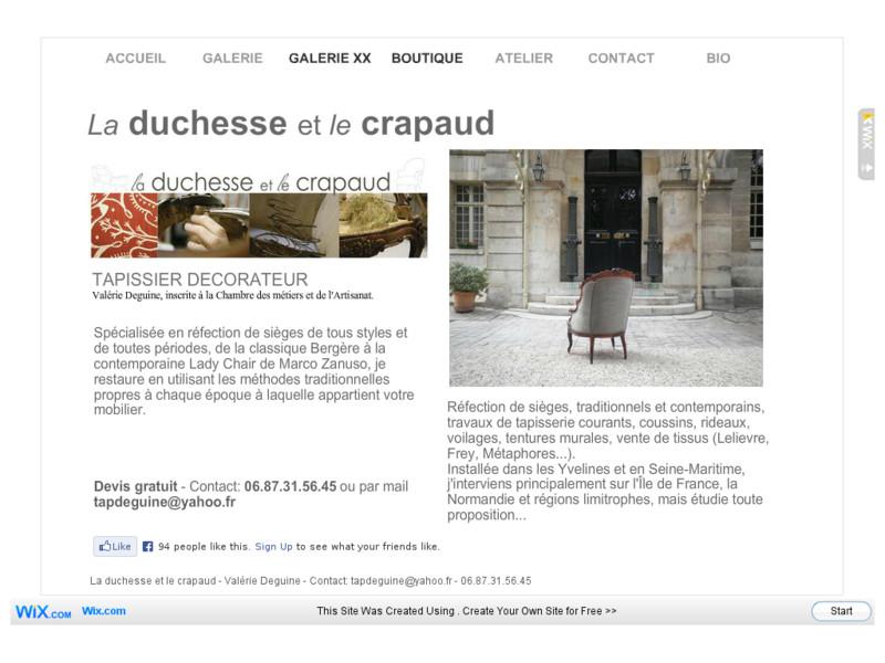 La Duchesse et le Crapaud - Feucherolles