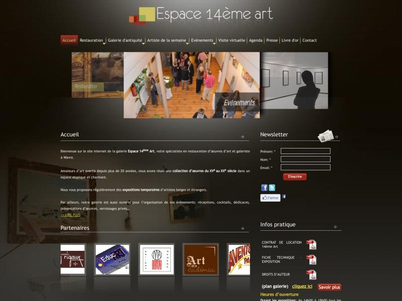 Atelier Pascal Mulpas - www.espace14emeart.eu