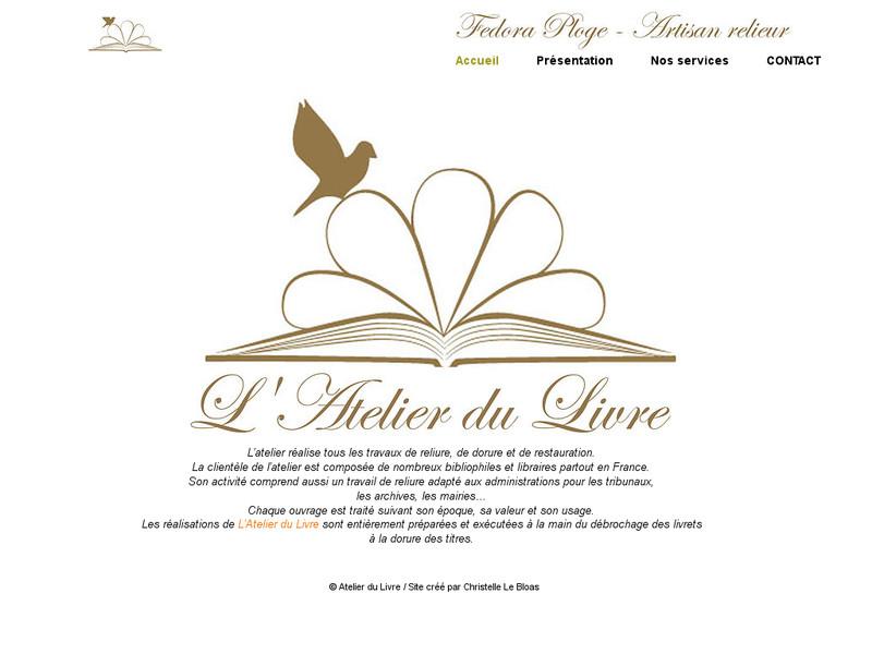 L'Atelier du Livre - Fedora Ploge - Paris 6e