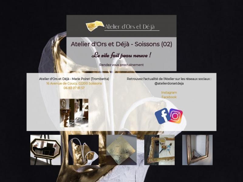 Atelier d'Ors et Déjà - Marie Trombetta - Soissons