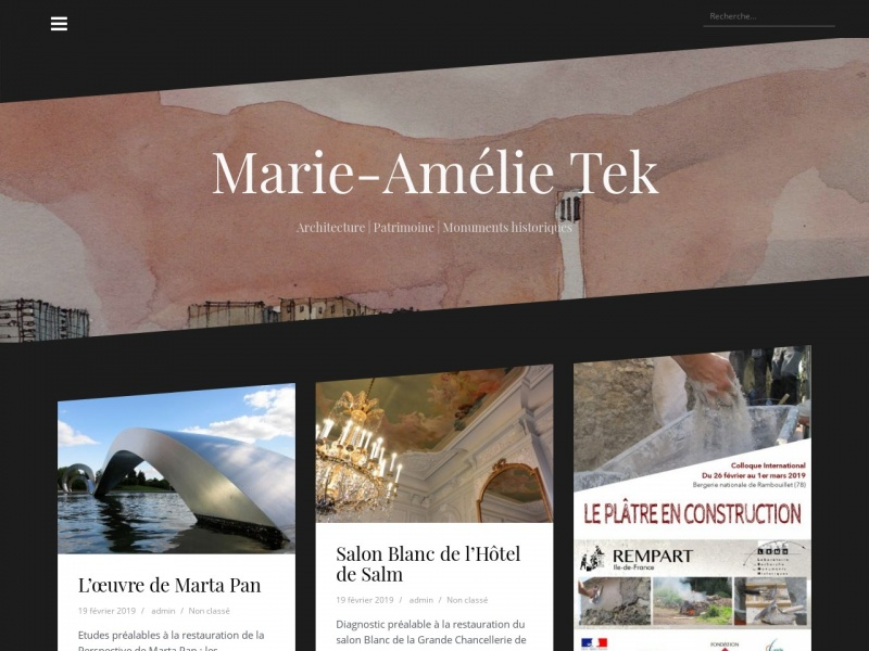Marie-Amélie Tek - Paris 15e