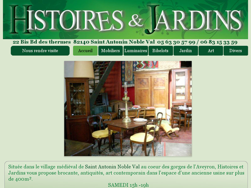 Histoires et Jardins - Saint Antonin Noble Val