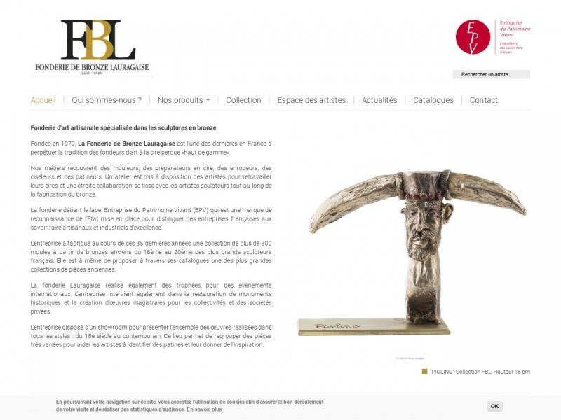 Fonderie de Bronze Lauragaise - Blan